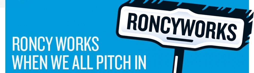 Website banner and RoncyWorks logo